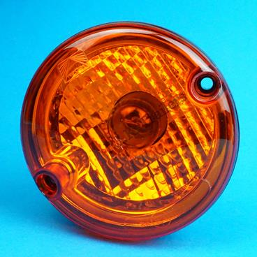 ASPOCK ROUND POINT REAR 95mm ROUND INDICATOR LIGHT LAMP FOR BRIAN JAMES TRAILER