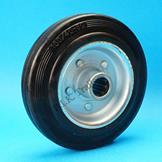 Replacement Jockey Wheel Steel Rim 160mm dia.