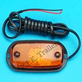 Perei LED Amber Side Marker Lamp