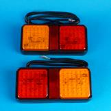 LED Twin Modular High Intensity Lamps - Pair