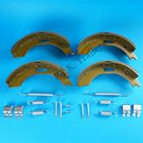 Brake Shoes 200 x 50mm for BPW Type 7