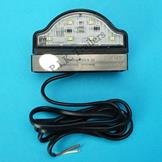 Compact LED Number Plate Lamp