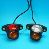 LED Outline & Side Stubby Marker Lamps - Pair
