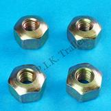 4 x Domed Brake Cable Nuts for ALKO & Knott